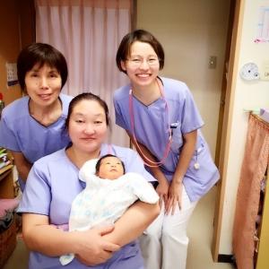 助産師さん お産 出産 陣痛 分娩